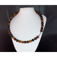 "18"" Tigers Eye Necklace"