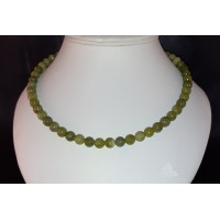 "18"" Natural Peridot Necklace"